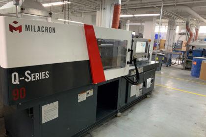 PMC Polymer Milacron Q90 Ton Injection Molding machine